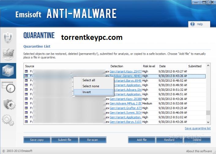 emsisoft anti-malware key
