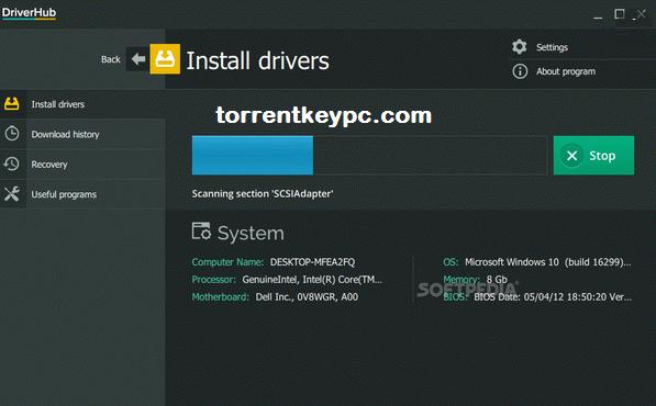 DriverHub Key